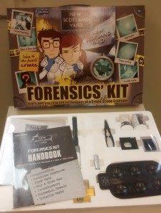 Amazing New Scotland Yard Forensics Kit