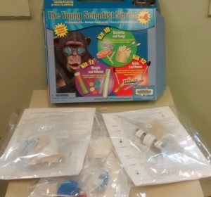 Young Scientists Series Set 4 Bacteria and Fungi (Kit 10), Weight and Volume (Kit 11), Acids and Bases (Kit 12)